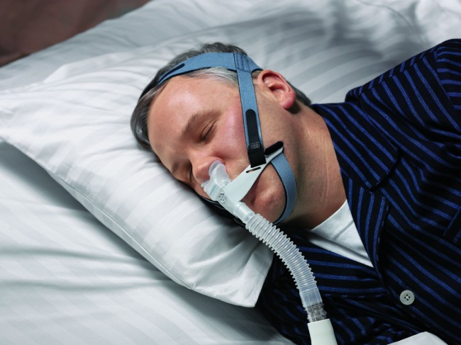Sleep Apnea and Treatment Affects PTSD Symptoms