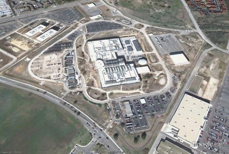 San Antonio NSA Data Center. The Utah data center is listed above.