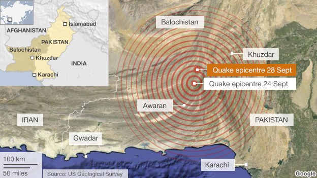 Breaking News – Second Pakistani Earthquake to Hit in One Week
