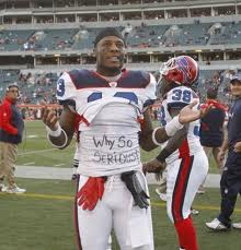 Stevie Johnson may not know who plays for the Patriots, he's just sure they can't cover him.
