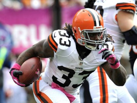 The Cleveland Browns have thrown in the towel on 2013 and traded running back Trent Richardson to the Indianapolis Colts.