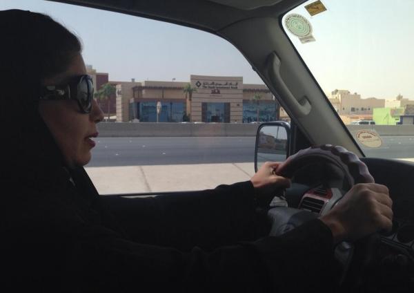 Saudi Arabia driving campaign