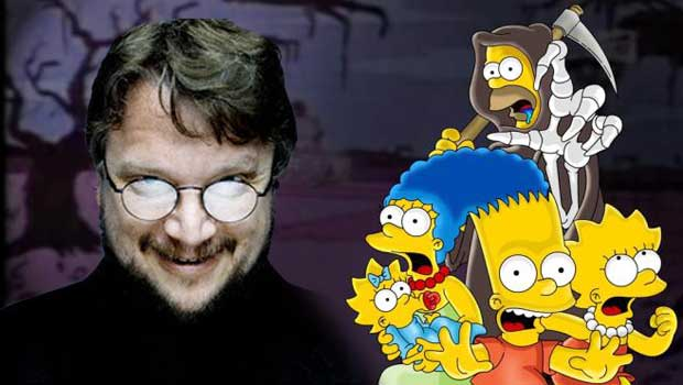 Guillermo del Toro Simpsons