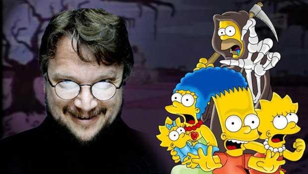 Guillermo del Toro Simpsons
