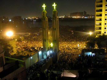 El Warraq church Egypt