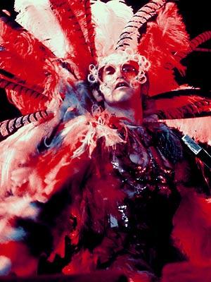 Elton John flamboyant
