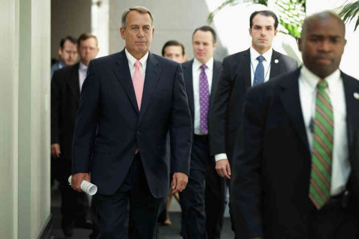 John Bohner and the Republican Party's Shutdown Doesn't Mean Anything