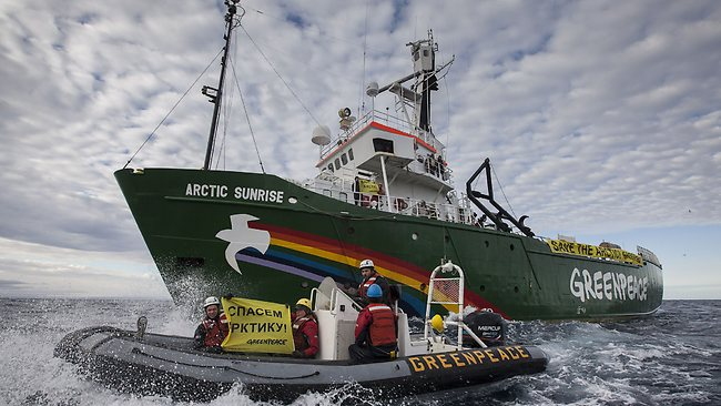 Greenpeace Website Gives Live Timeline of Activists Fate
