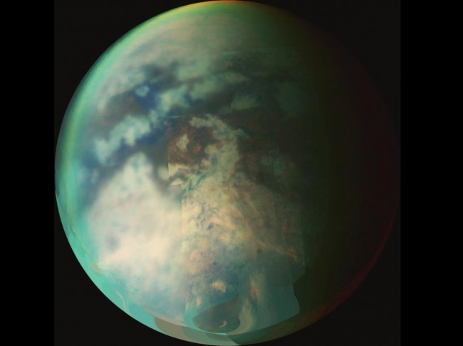 Titan revealing secrets about its lakes to NASA Cassini spacecraft.