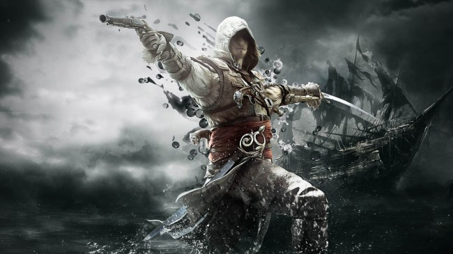 Assassin's Creed 4 Black Flag YouTube trailer gameplay release DLC