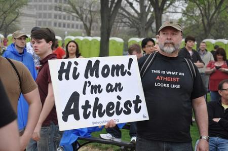 Atheism, social media, millions