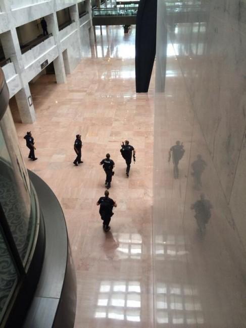 Shooting Outside U.S. Capitol (Video)