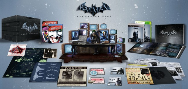 Batman Arkham Origins Collector's Edition Boxset
