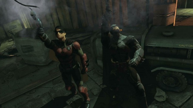 Batman and Robin are set to take on The Joker and Bane in Origins Multiplayer