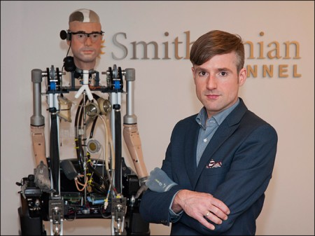 Watch 'Incredible Real Bionic Man' Walk and Breathe (Video)