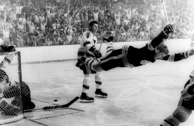 Bobby Orr 1970 Goal