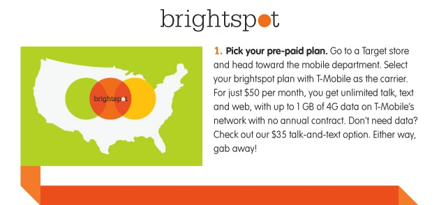 Target Brightspot Prepaid Plans Launches October 6