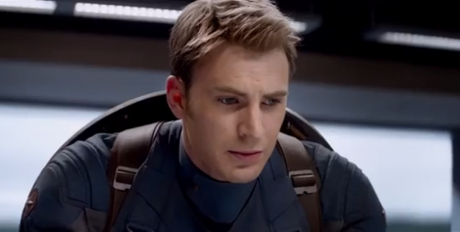Trailer for Captain America 2 released today
