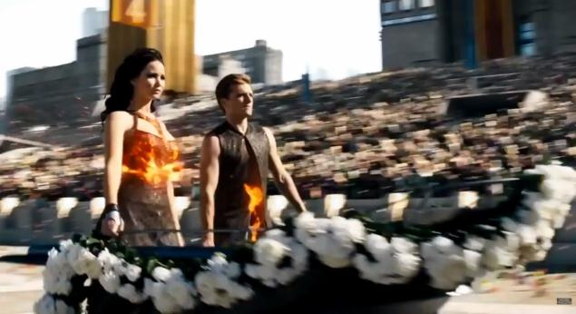 Catching Fire shows off a bigger budget and its later arena scenes in a final trailer
