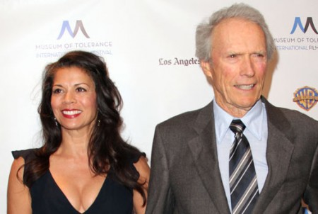 Clint Eastwood brings new girlfriend Christina Sandera ...