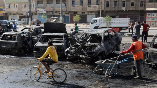 Coordinated car bomb attacks kill dozens of people across Iraq