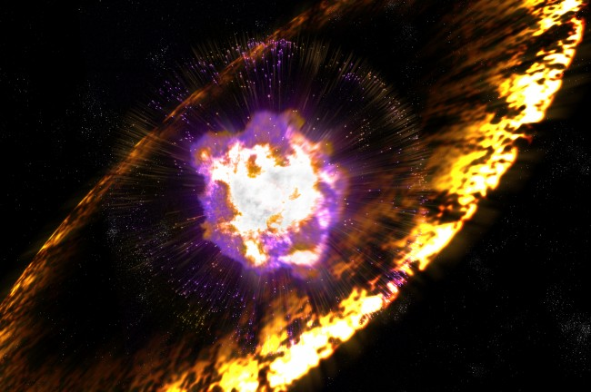 Cosmic explosions detected using new techniques