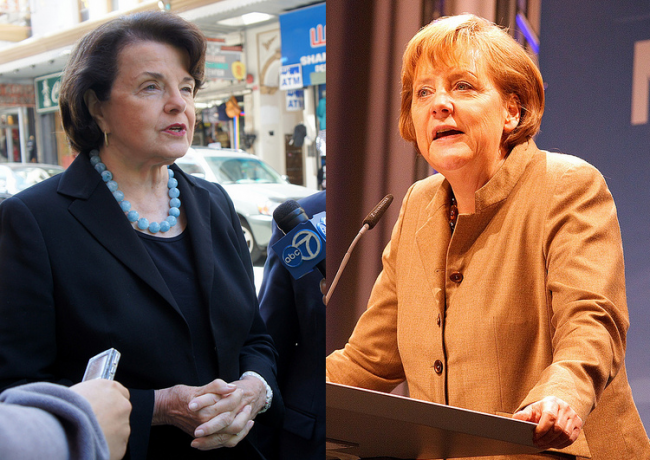 Merkel Spying Prompts NSA Investigation Call from Feinstein