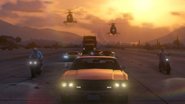 GTA V Online vehicles