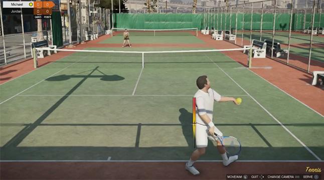 GTA V Tennis