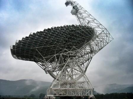 Green Bank Telescope in West Virginia