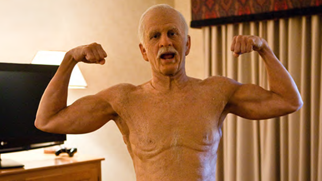 Johnny Knoxville as shirtless Irving Zisman