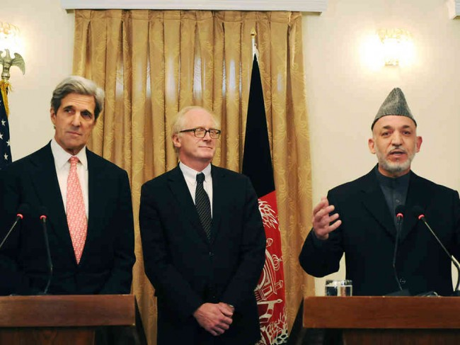 Kerry and Karzai extend talks
