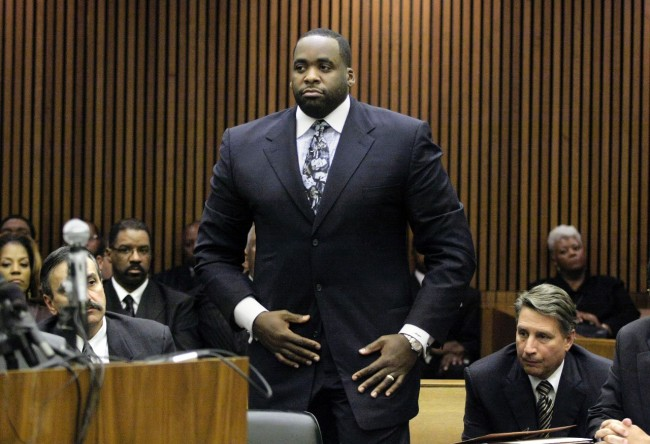 Kwame Kilpatrick detroit mayor sentenced to 28 years