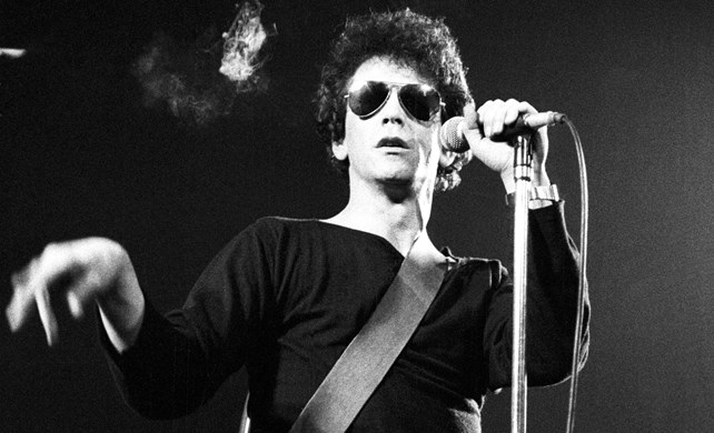 Lou Reed from The Velvet Underground
