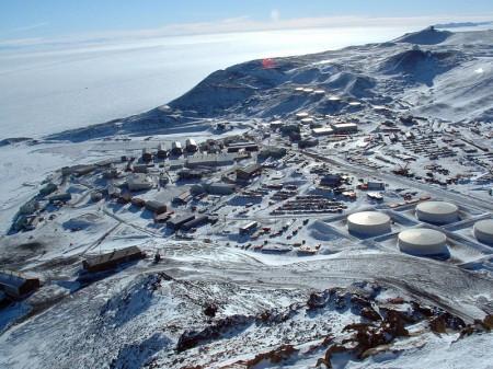 McMurdo Station has been shuttered