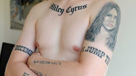 Miley Cyrus Fan Has 21 Miley Tattoos and Planning Another