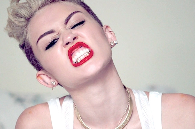 Miley Cyrus in Control?