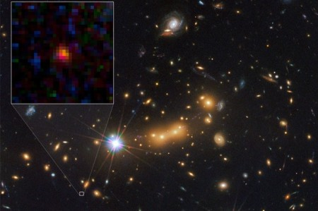 New most distant galaxy