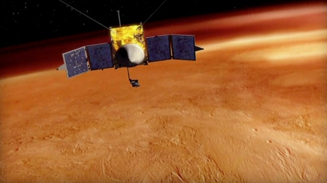 NASA is able to save the MAVEN mission to Mars from the government shutdown