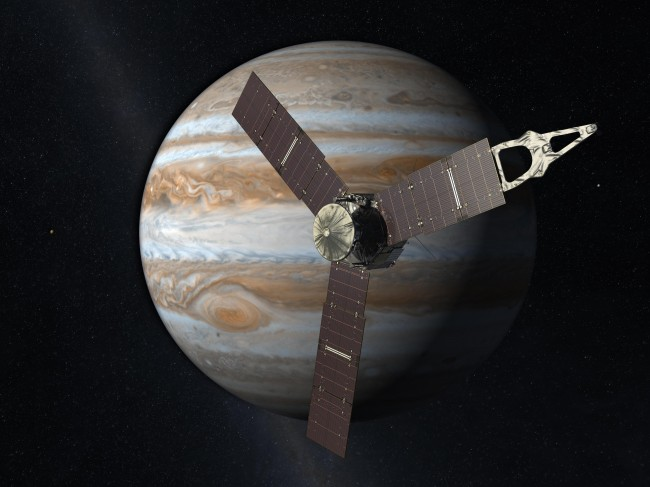 NASA's Juno to slingshot towards Jupiter using Earth Flyby