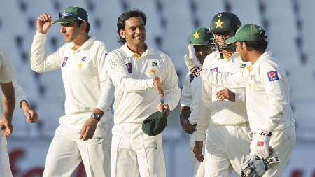 Pakistan win the first test