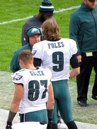 Philly's Nick Foles Possible Head Injury