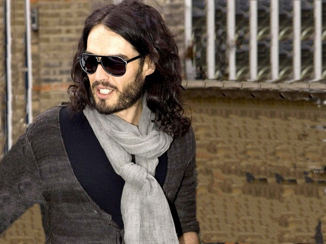 Russell Brand Just Cannot Stop Shocking People