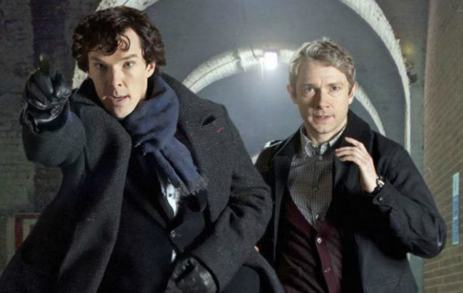 Sherlock Season 3 with Cumberbatch to Return to U.S. in January