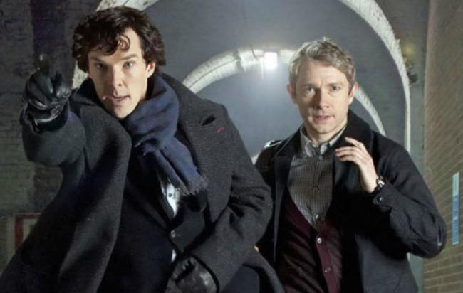 Sherlock Season 3 with Cumberbatch to Return to U.S. in January