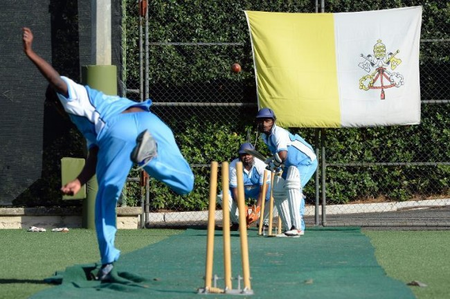 Vatican launches a cricket team