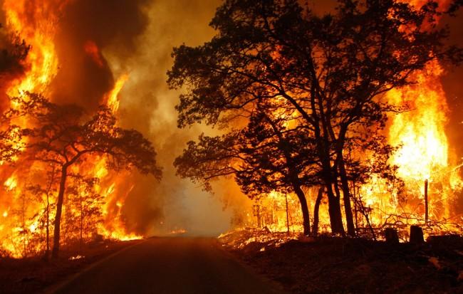Wildfire smoke causing damage to distant states