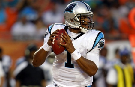 Cam Newton and the Carolina Panthers will stay hot against the division rival Atlanta Falcons.