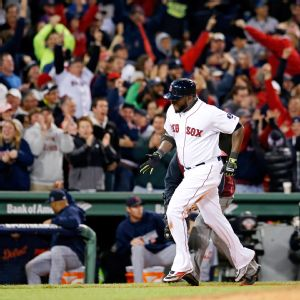 David Ortiz carried his Red Sox to victory over the Tigers with his 8th inning grand slam in the ALCS.
