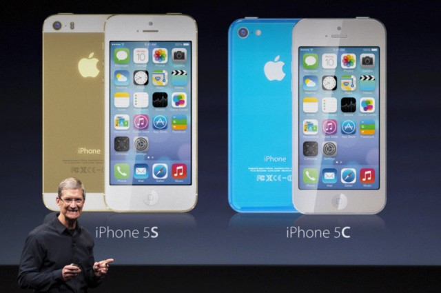 Both the iPhone 5S and the iPhone 5C